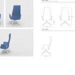 Cadeira YORK - XL / M / XS